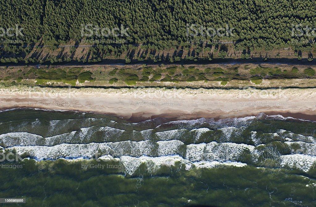 Baltic coast royalty-free stock photo