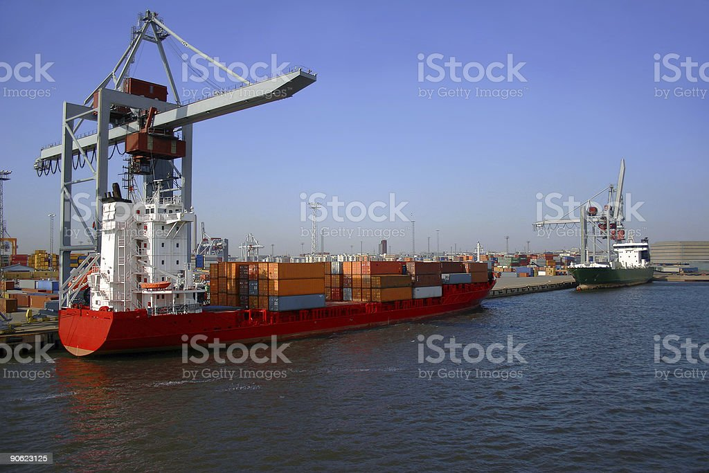 Baltic Harbour royalty-free stock photo