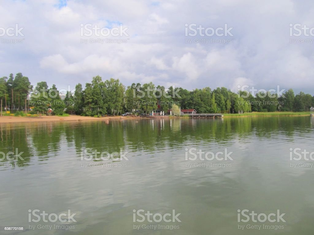 Baltic in September stock photo