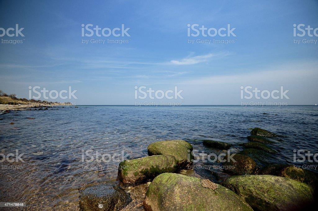 Praia do Mar Báltico foto royalty-free