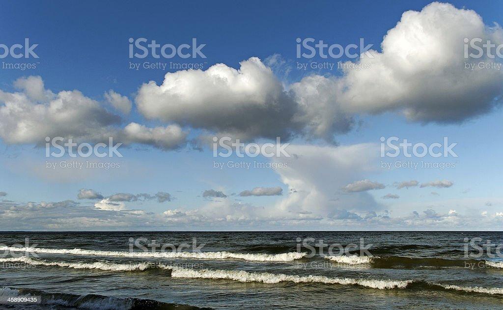 Baltic sea. royalty-free stock photo