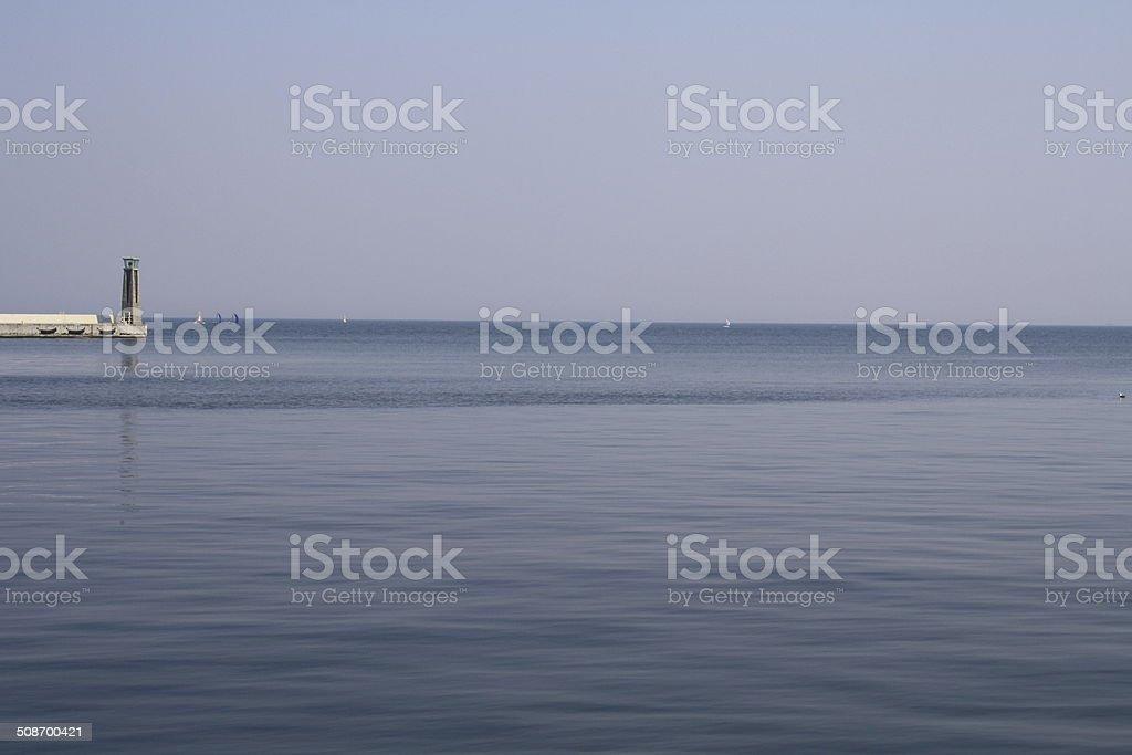 Ostsee sea Lizenzfreies stock-foto