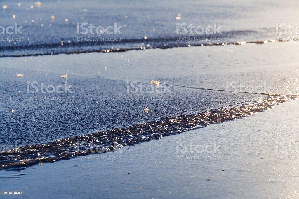 Baltic Sea Winter stock photo