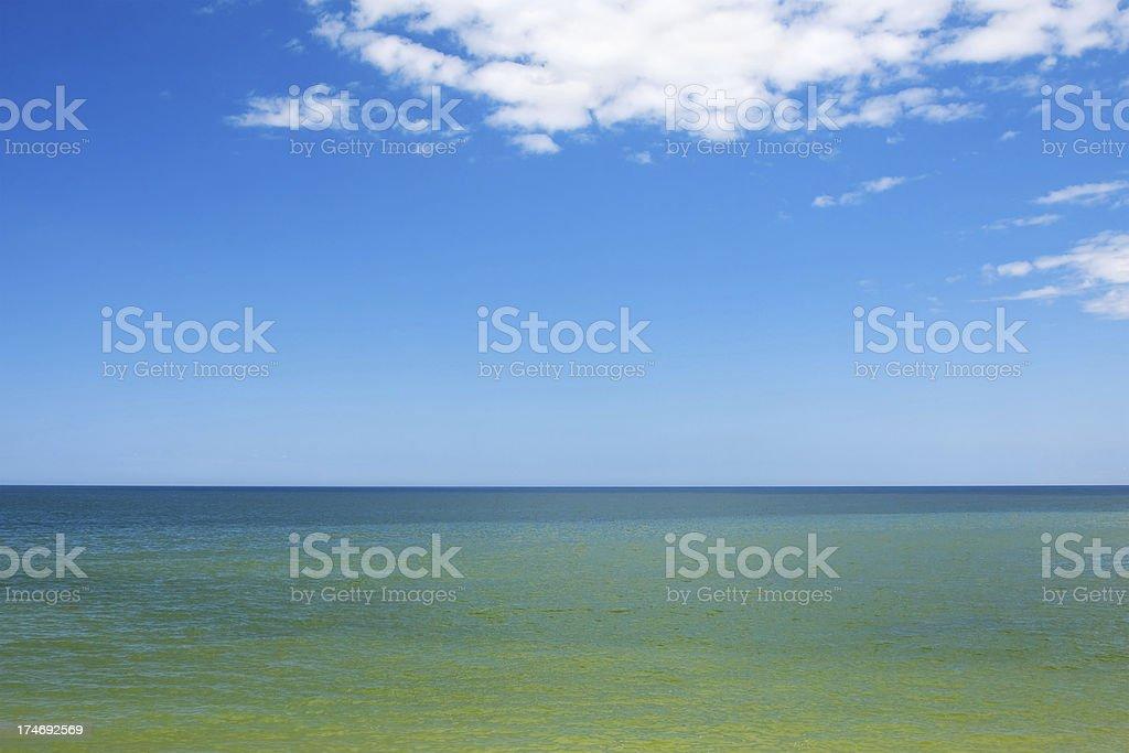 Baltic seascape royalty-free stock photo