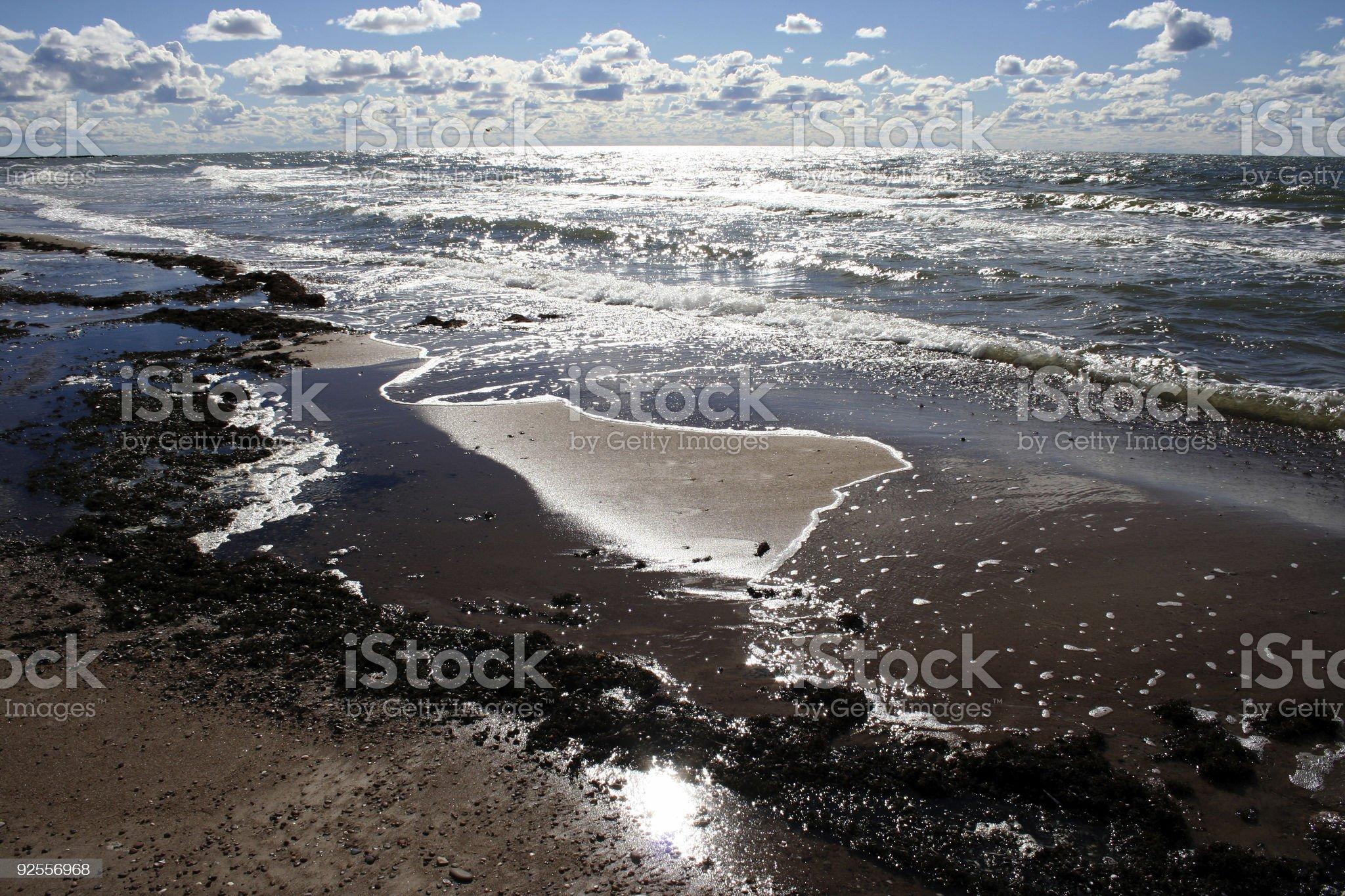 Baltic seaside royalty-free stock photo