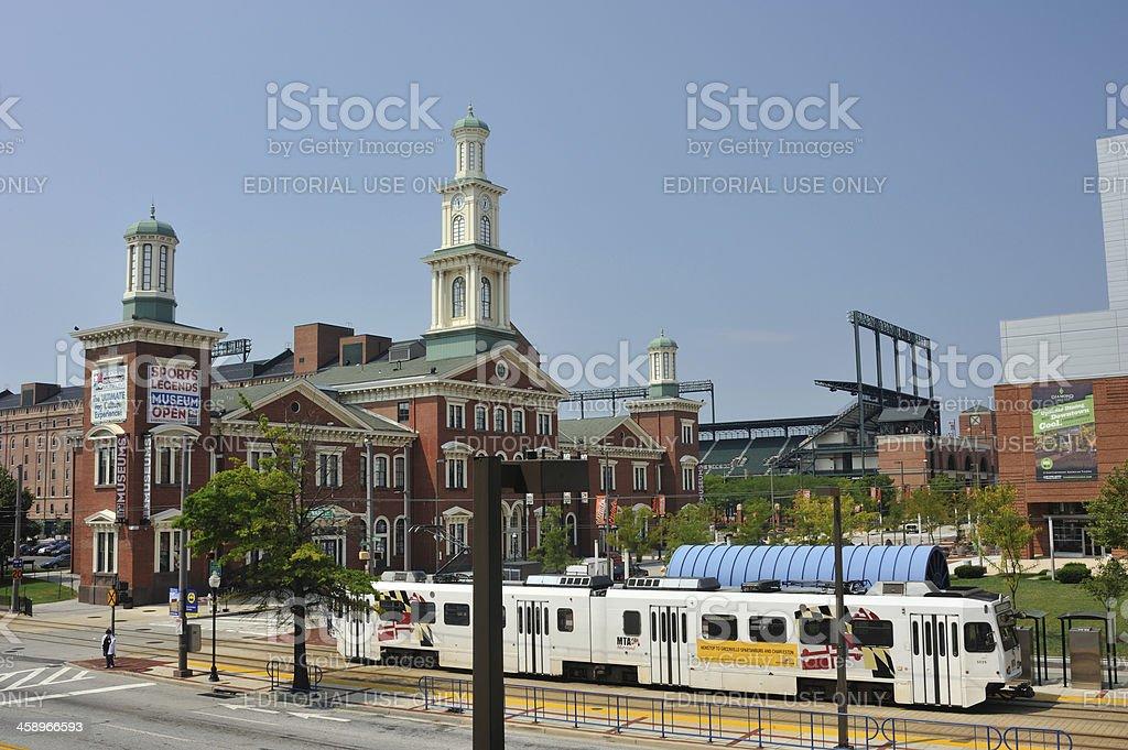 Baltimore City royalty-free stock photo