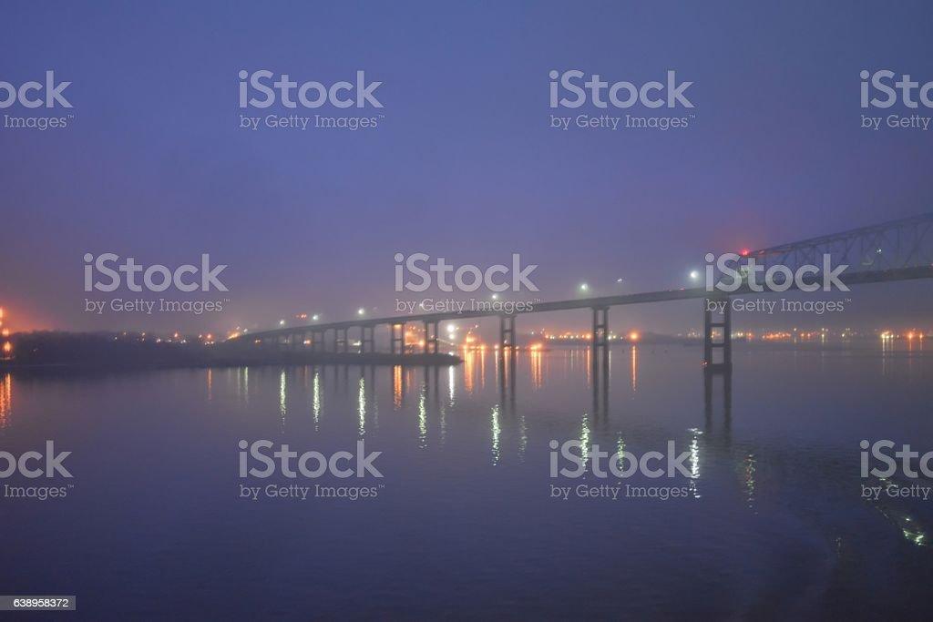 Baltimore Key Bridge stock photo