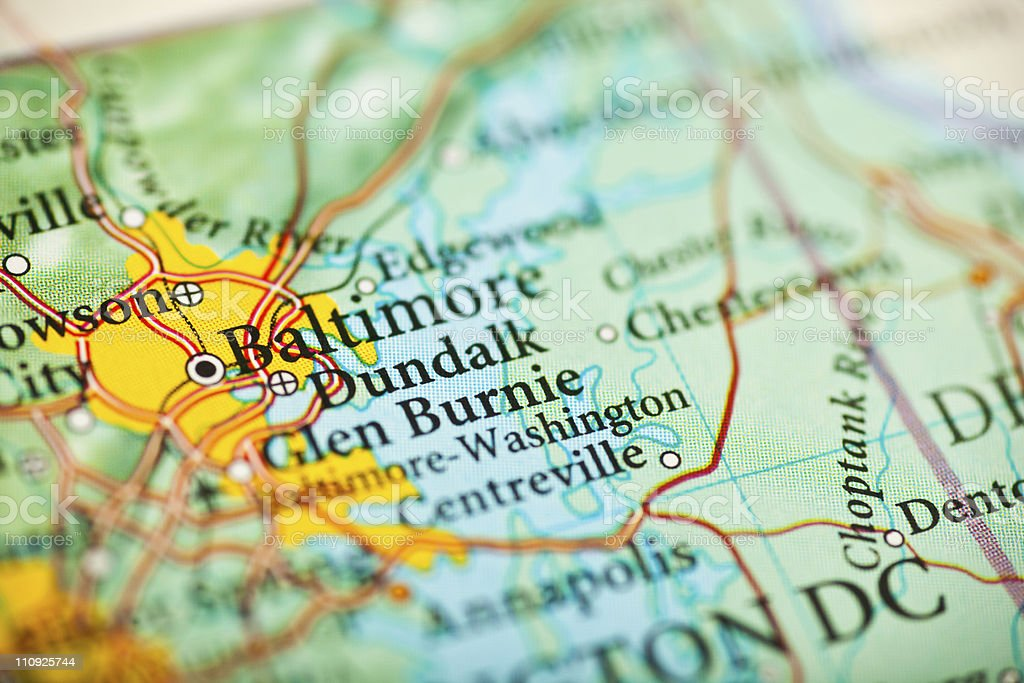 Baltimore, MD royalty-free stock photo