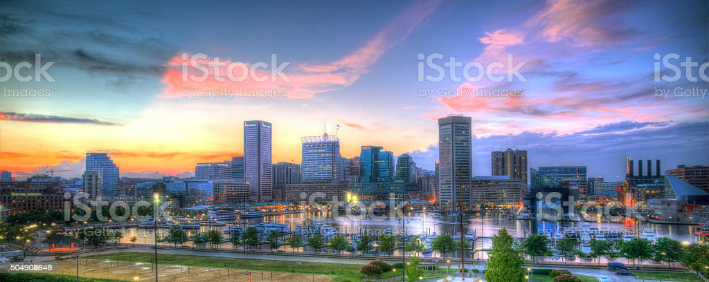 Baltimore, MD stock photo