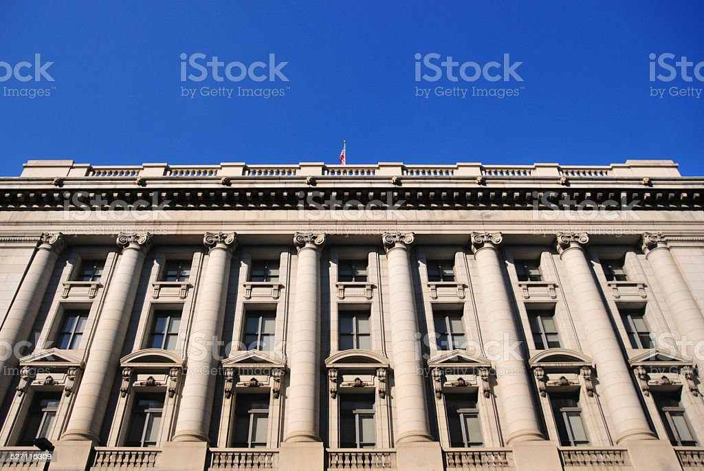 Baltimore, MD: US Custom House stock photo