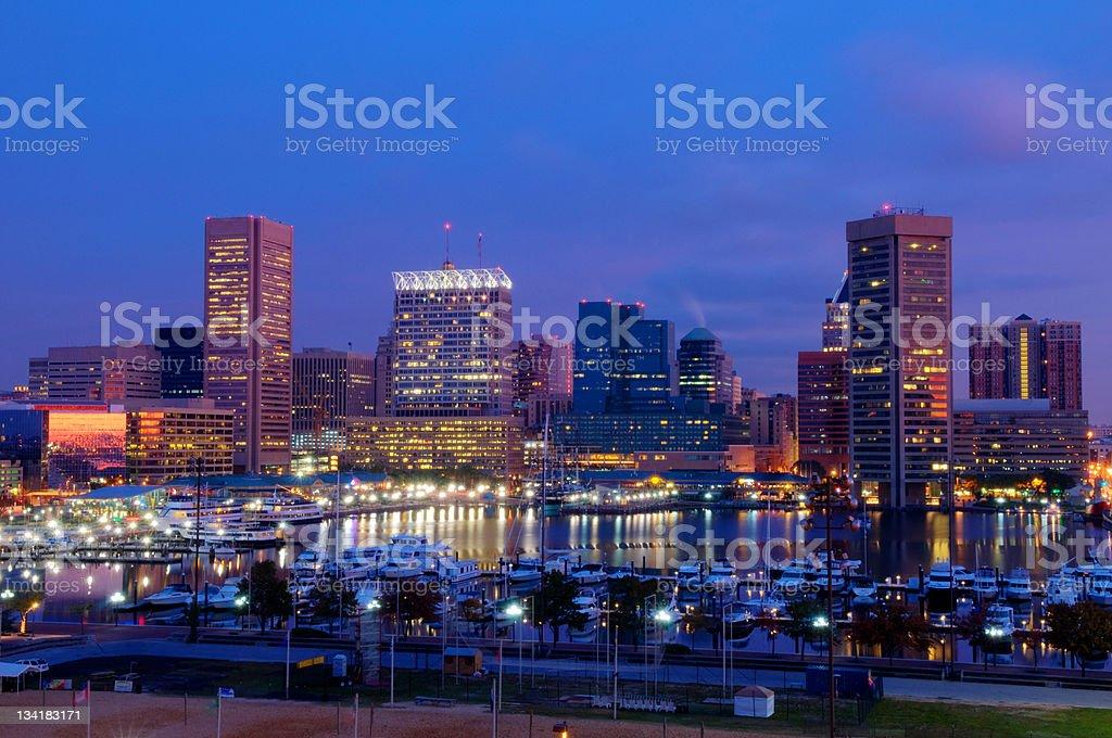 Baltimore Morning royalty-free stock photo