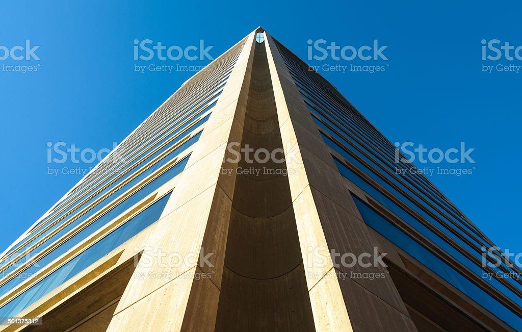 Baltimore skyline stock photo