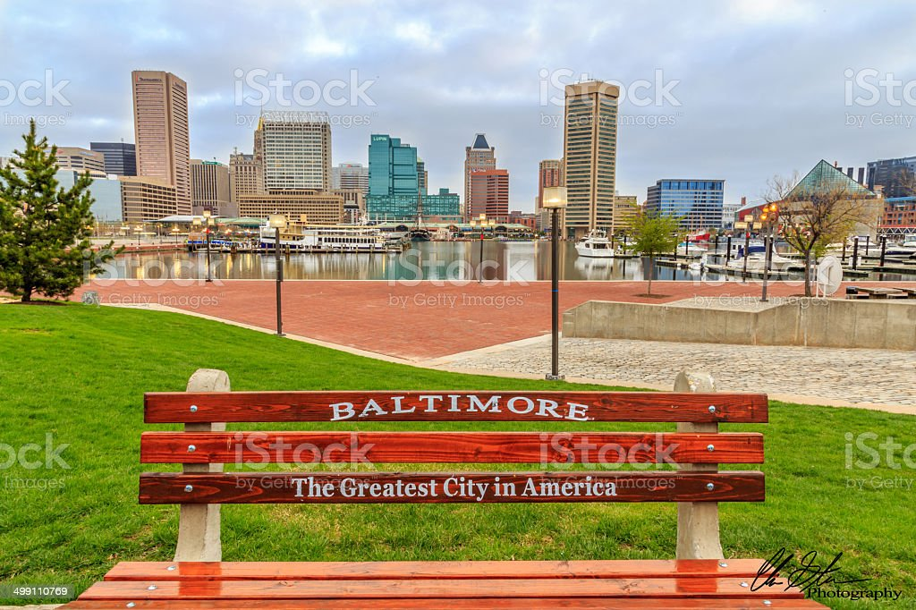 Baltimore The Greatest City In America stock photo