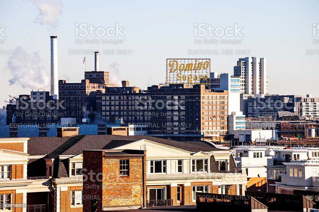 Baltimore view. stock photo