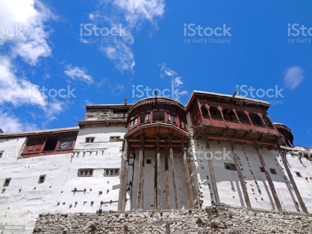 Baltit Fort Hunza Valley stock photo