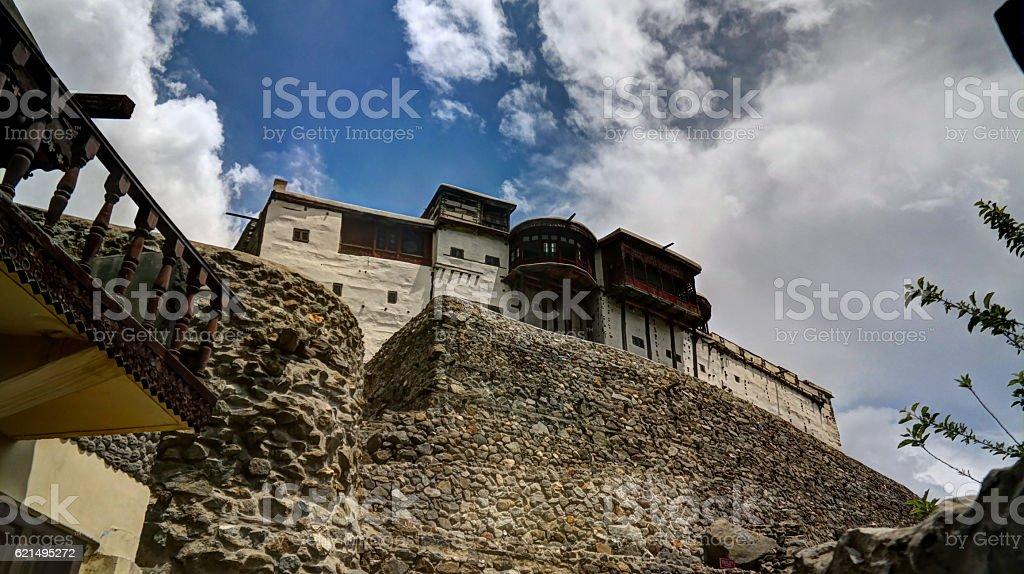 Baltit fort in Karimabad, Hunza valley Pakistan stock photo