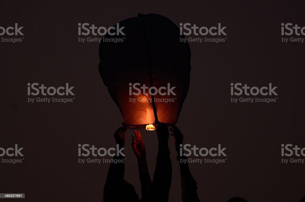 Balun Light stock photo