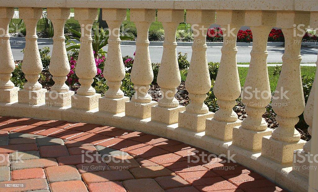 Balustrade royalty-free stock photo