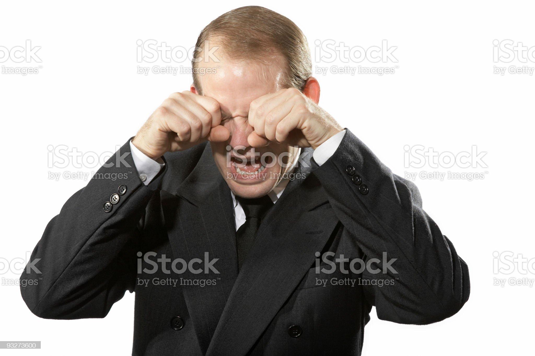Balwing Businessman royalty-free stock photo