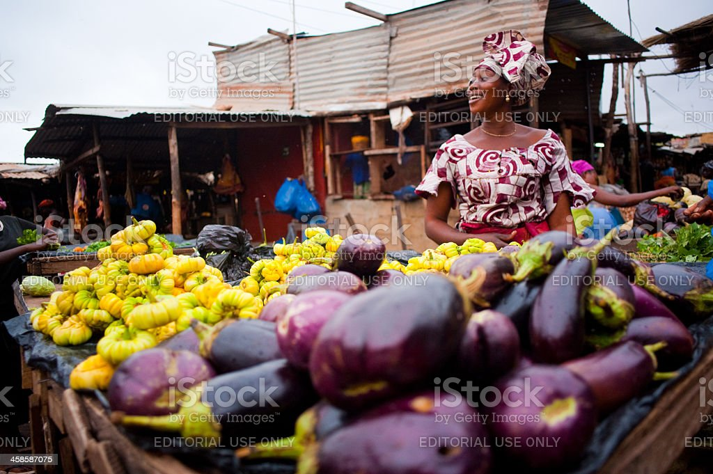 Bamako Market stock photo