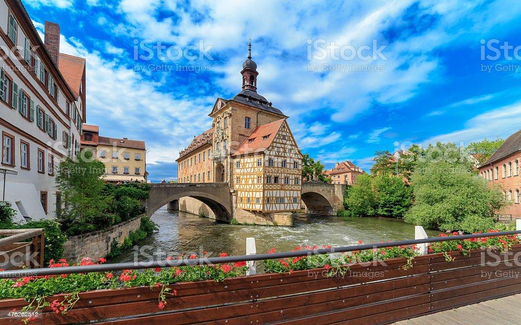 Bamberg City Hall stock photo