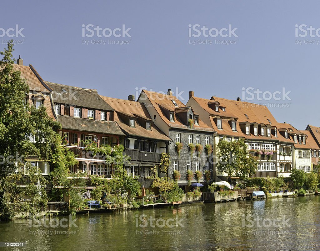 Bamberg Houses stock photo