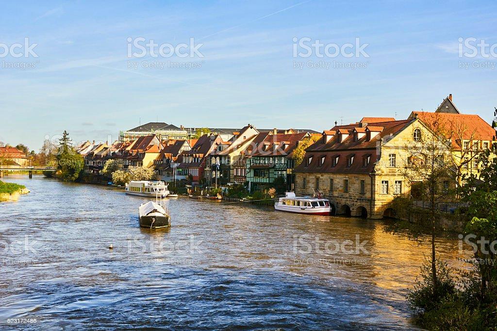 Bamberg Little Venice stock photo