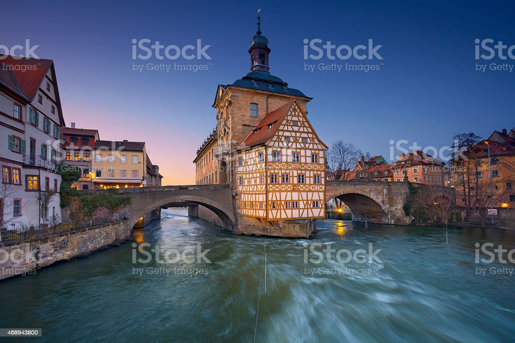 Bamberg. stock photo