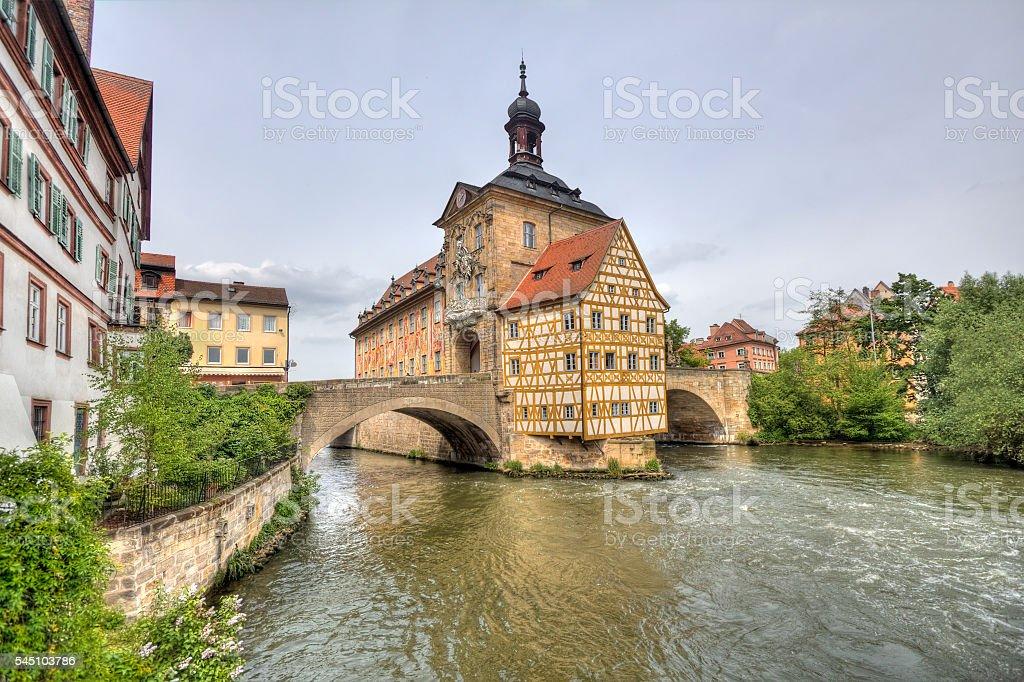 Bamberg Townhall, Germany stock photo