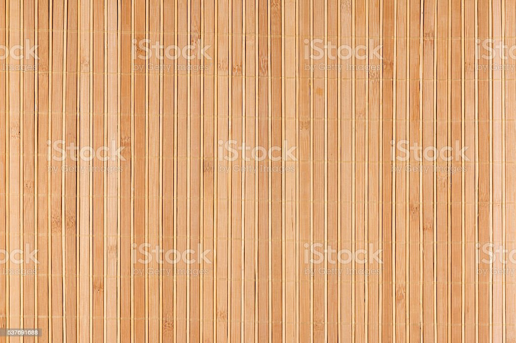 Bamboo beige mat as abstract texture, background, composition stock photo