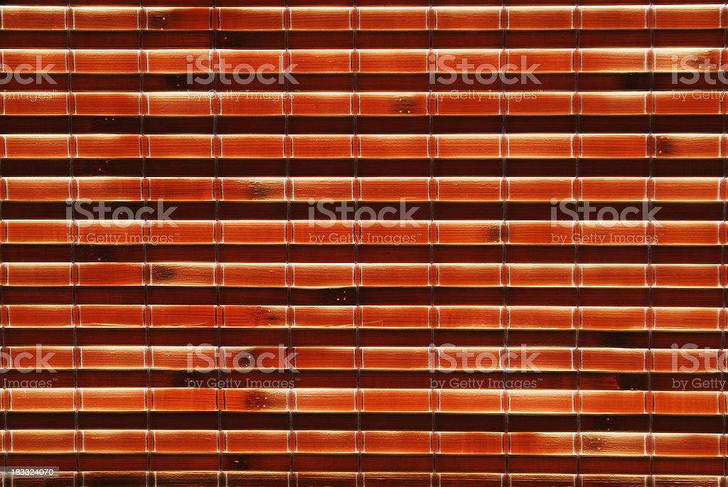 Bamboo Blinds royalty-free stock photo