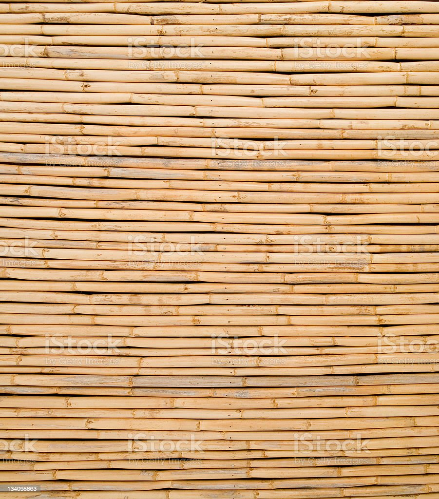 Bamboo cane background texture stock photo