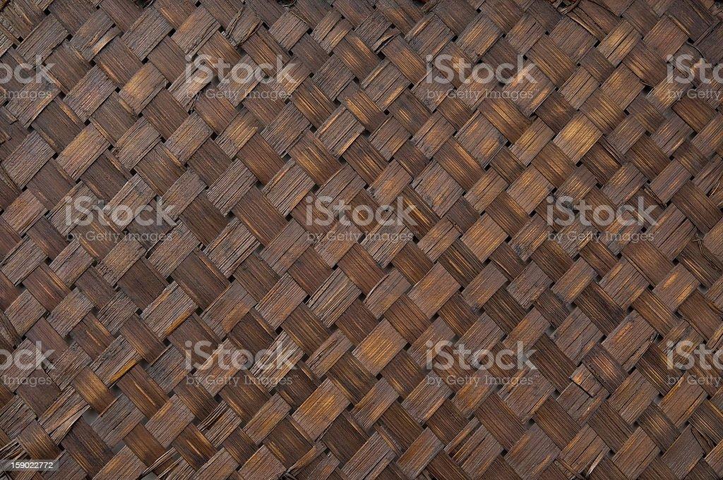 Bamboo crafts royalty-free stock photo