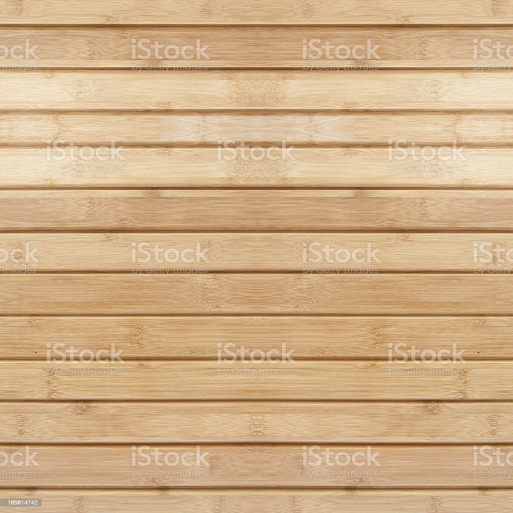 Bamboo floor (XXXL) stock photo