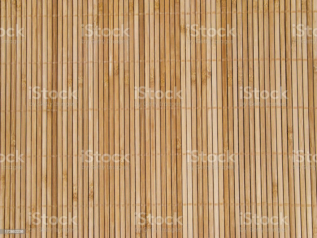 Bamboo Mat stock photo