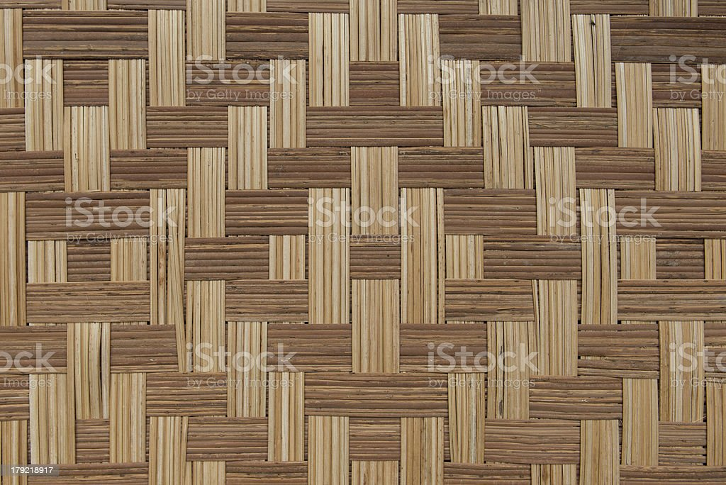 Bamboo mat royalty-free stock photo