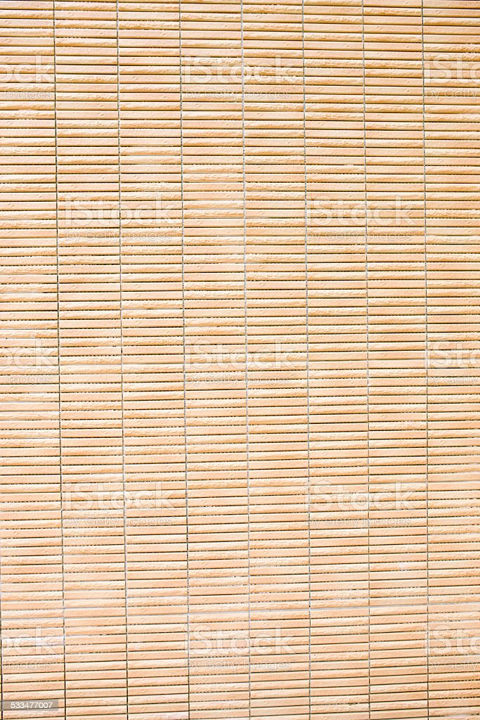 Bamboo mat texture, Hong Kong stock photo