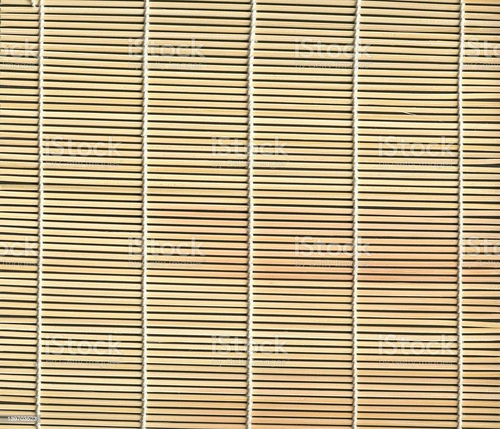 texture de sol en bambou photo libre de droits