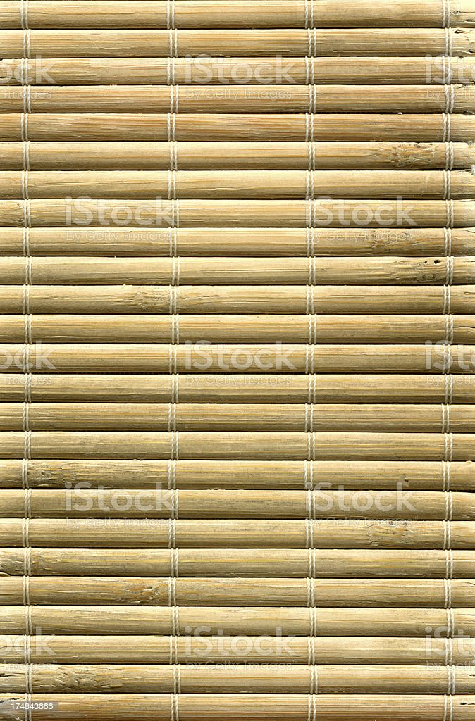 Bamboo mat texture royalty-free stock photo