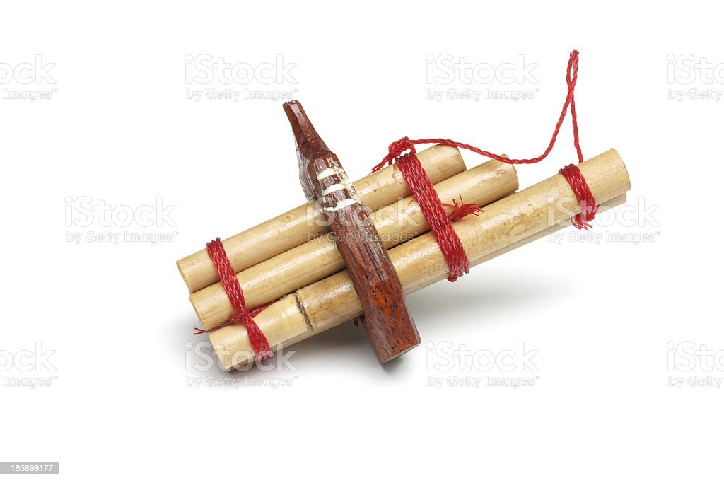 bamboo mouth organ in northeastern Thailand royalty-free stock photo