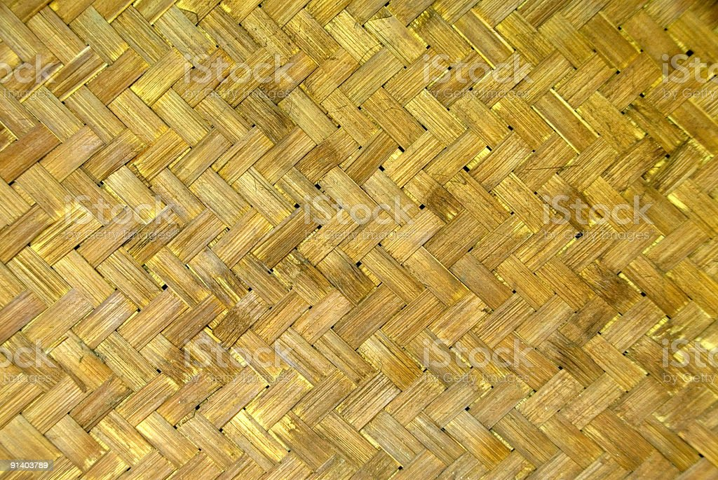 Bamboo Panel Background royalty-free stock photo