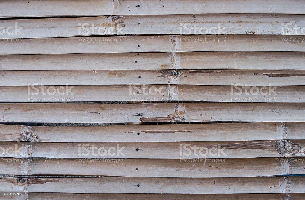 Bamboo pattern wall background stock photo