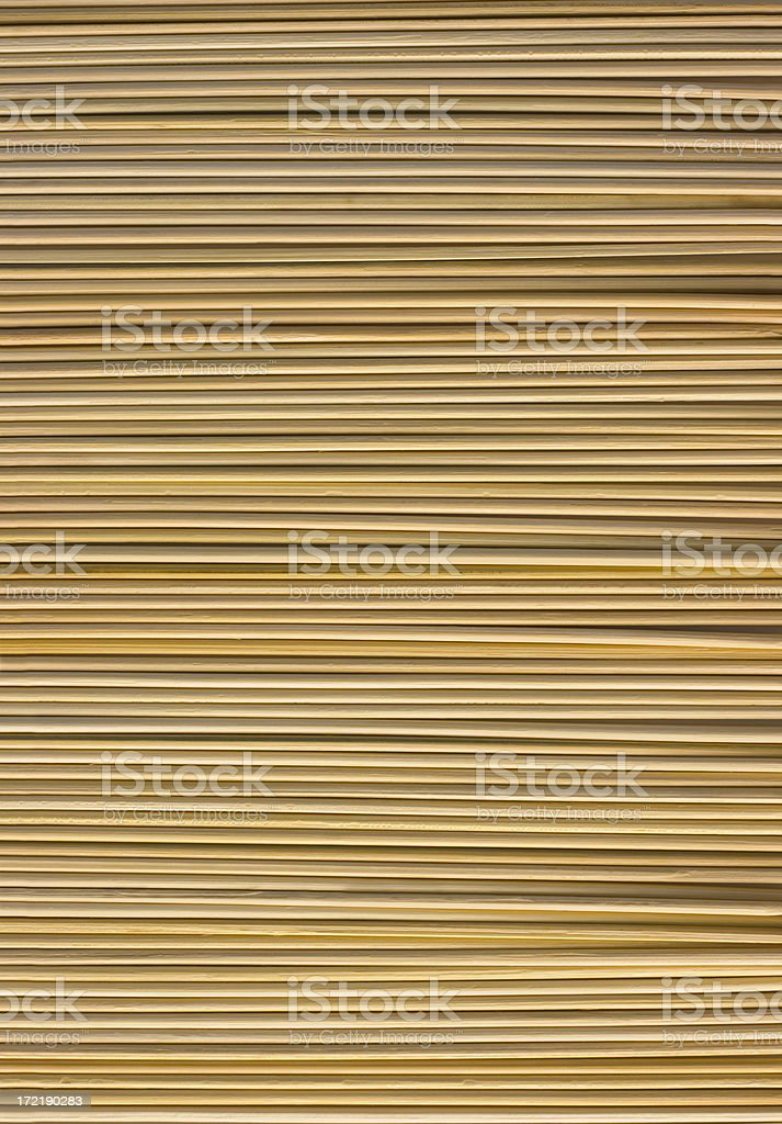 Bamboo Place Mat Natural Pattern Texture for Asian, Japanese Culture stock photo