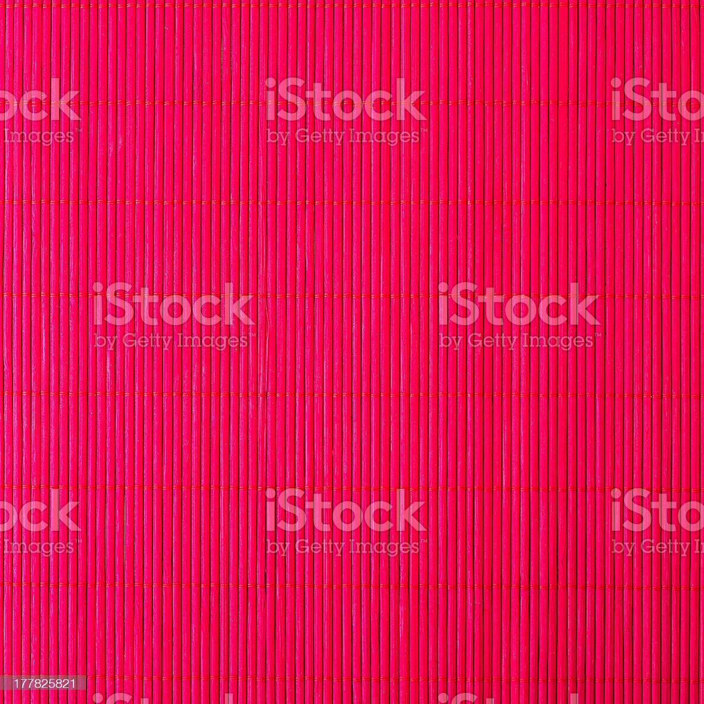 bamboo red tablecloth royalty-free stock photo