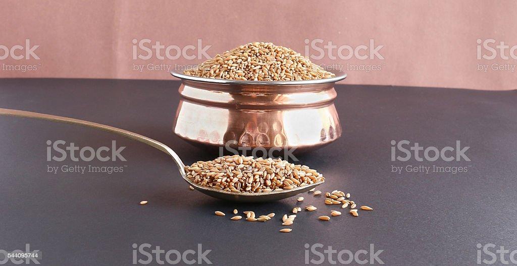 Bamboo rice stock photo