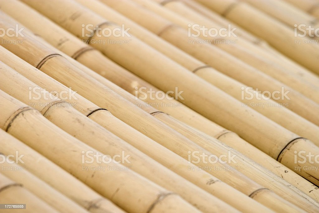 bamboo roof background stock photo