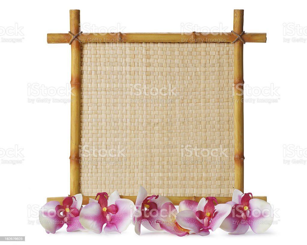 Bamboo Sign royalty-free stock photo