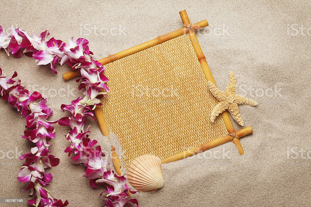 Bamboo Sign stock photo