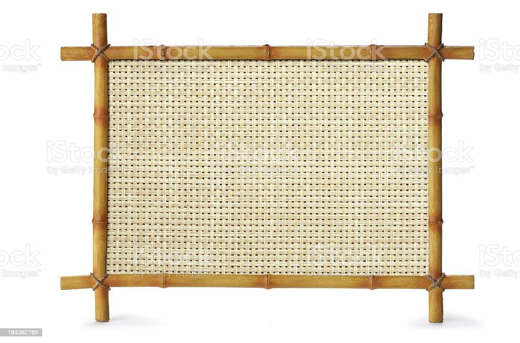 Bamboo Sign stock photo