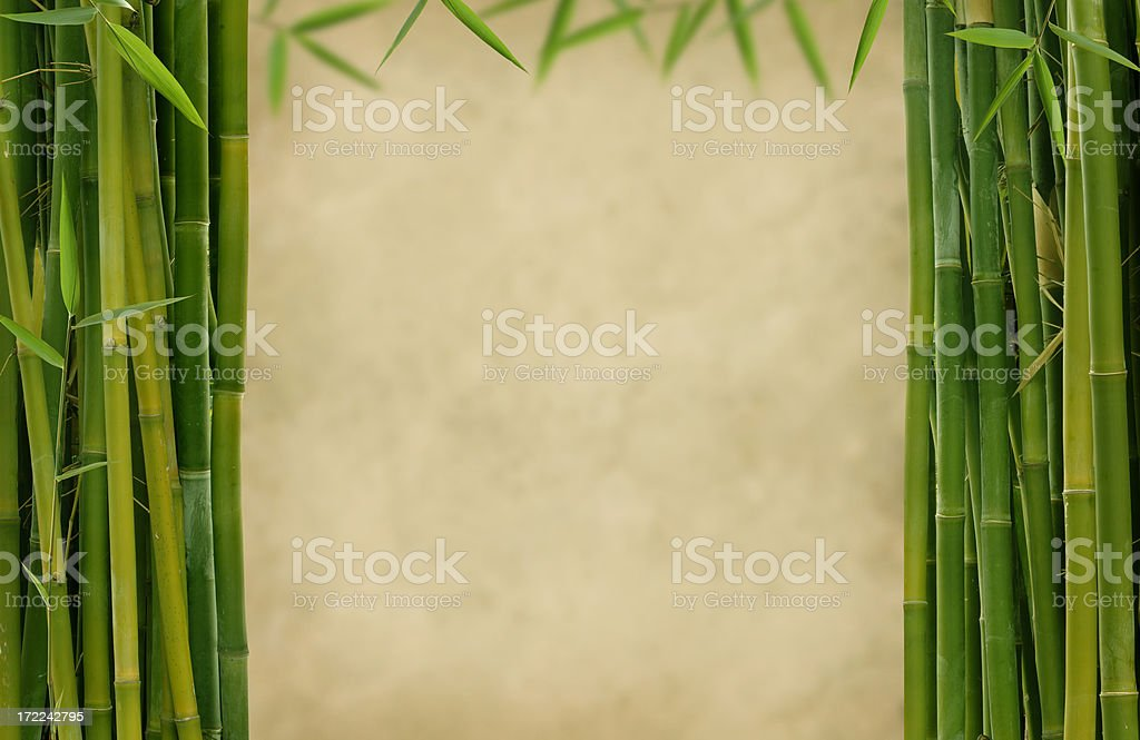 Bamboo Stage stock photo